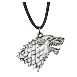 Noble Collection Amulet Game of Thrones - znak Starků