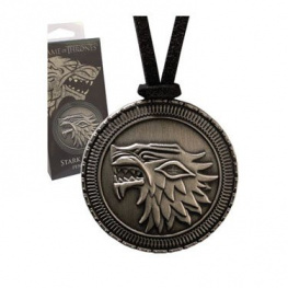 Noble Collection Amulet Game of Thrones - znak Starků De Luxe